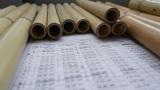 Feinster Chinesischer Bambus für die Tenor Panflöte