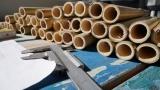 Rohröffnungen von Bambus für Tenor Panflöten