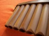 Bambusstruktur und  saubere Verarbeitung der Rohre