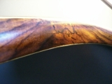 Feinstes Holz für den Schuh der Panflöte