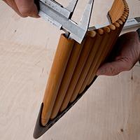 Durchmesser des ersten Rohres der Alt Panfloeten
