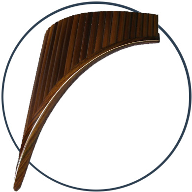 Bass Panflöte
